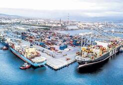 Limanlarda elleçlenen konteyner ve yük miktarları arttı
