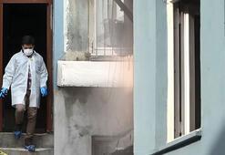 Beyoğlunda battaniyeye sarılı kadın cesedi bulundu