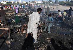 Gecekondu mahallesinde yangın: Alev alev yandı