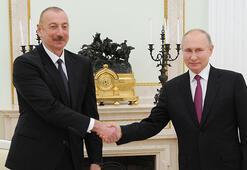 Moskovada kritik temaslar Aliyev ile Putin ikili görüştü