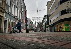 Almanya'da işletme sahiplerinden Kovid-19 protestosu