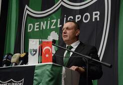 Denizlispor Başkanı Ali Çetin: Her an bırakmaya hazırız