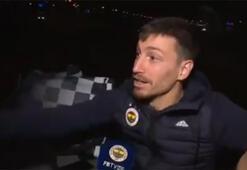 Fenerbahçe takım otobüsünde Mert Hakan Yandaş rüzgarı...