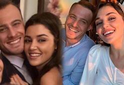 Hande Erçel ile Kerem Bürsinden aşk dedikodularını alevlendiren fotoğraf