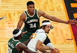 NBAde Bucks, deplasmanda Magici yendi