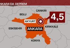 Son dakika... Ankaradaki 4.5 büyüklüğündeki deprem sonrası flaş uyarı