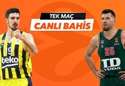Fenerbahçe Beko - Baskonia maçının heyecanı  Tek Maç ve Canlı Bahis seçenekleriyle Misli.Comda