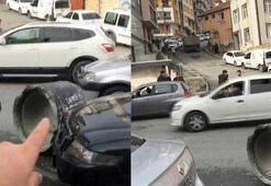 İstanbulda korku dolu anlar Felaket bu...