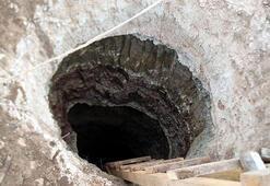 Yerin 15 metre altında suçüstü yakalandılar