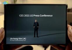 LG, CES 2021de yuvarlanabilir ekranlı telefonlarını tanıttı
