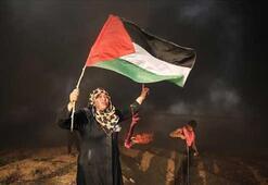 Filistinliler BM yardım kuruluşunu Gazzede protesto etti