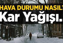 İstanbul hava durumu: Kar ne zaman yağacak Meteoroloji son dakika