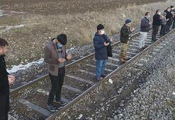 Erzurumda köylülerden kar duası