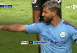 Sergio Agüeronun, Brightona attığı harika gol