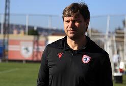 Yılport Samsunspor Teknik Direktörü Sağlamdan birlik çağrısı