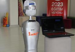 Maske kontrolü ve sosyal mesafe ölçümü yapan robot tasarlandı