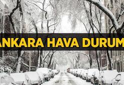 Ankara hava durumu   Ankarada kar yağışı devam edecek mi