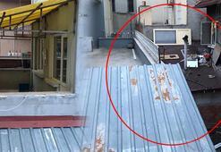 Polis baskın yaptı 7 kişi kaçmak için çatıdan yan binaya geçti