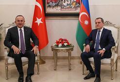 Bakan Çavuşoğlu, Azerbaycanlı mevkidaşı Bayramovla görüştü
