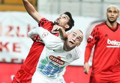 Beşiktaş-Çaykur Rizespor: 1-0