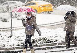 Türkiye'de beklenen kış manzaraları Ankara'da kar