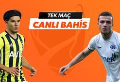 Fenerbahçe - Kasımpaşa maçı Tek Maç ve Canlı Bahis seçenekleriyle Misli.com'da