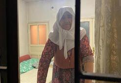 Anne- kız, komşunuz' diyerek evine girdikleri yaşlı kadının parasını çaldı