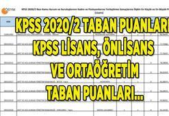 KPSS taban puanları için tıkla: KPSS 2020/2 tercih sonuçları lisans, önlisans, ortaöğretim atama taban puanları açıklandı