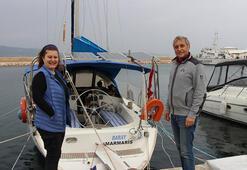 Evlerini sattılar 6 yıldır teknede yaşıyorlar
