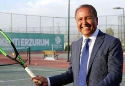 Türkiye Tenis Federasyonu Başkanı Durmuş: Antalya Açık çok başarılı geçti