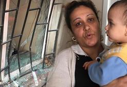 Kamyon binaya girdi Anne ve çocuğu ölümden döndü