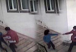 Kargo görevlisi, fotoğrafını çeken otizmli çocuğu dövdü