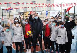 Bakan Kasapoğlu, Siirtli çocuklarla Lastikparka çıktı