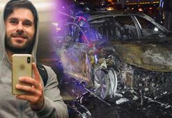 Yanan otomobilde ölen kişi, eski milletvekilinin oğlu çıktı