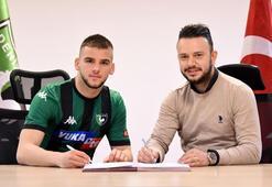 Denizlispor, altyapıdan Veton Tusha ile profesyonel sözleşme imzaladı
