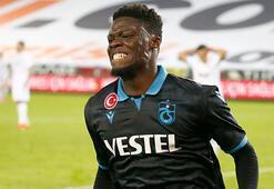 Trabzonsporun gol umudu Ekuban ilk peşinde