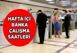 Bankalar saat kaçta açılıyor/kapanıyor Hafta içi bankalar saat kaça kadar açık, öğle molası saat kaçta