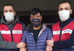 Kırmızı bültenle aranan terörist sınır hattında yakalandı