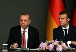Son dakika... Macrondan Cumhurbaşkanı Erdoğana el yazısıyla mektup