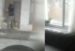 Şizofreni hastası ev ve iş yerlerinin camlarını kırdı