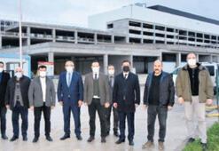 Balıkesir MHP'den Organize'ye ziyaret
