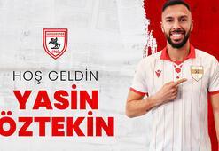 Son dakika - Samsunspor Yasin Öztekin transferini resmen açıkladı