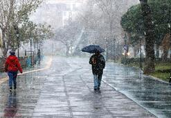 İstanbula kar ne zaman yağacak Bu gece kar yağacak mı