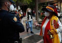 Kovid-19 salgınında İspanyada yeni vaka sayısı zirvede