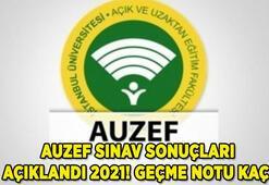 AUZEF sınav sonuçları sorgulama ekranı 2021 için TIKLA: AUZEF geçme notu kaç (İstanbul Üniversitesi )