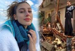 Itır Esen deprem enkazı üzerinde poz verdi Tepki yağdı