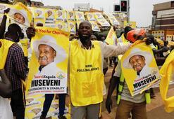 Ugandada zafer 35 yıldır iktidarda olan Museveninin