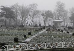 İstanbulda beklenen kar geldi