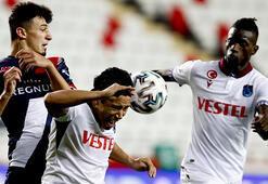 Antalyaspor - Trabzonspor maçından görüntüler