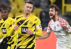 Borussia Dortmundda şok puan kaybı